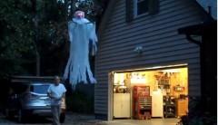 Halloween, fantasma, drone, costume, spettro,gossip,news,notizie,costume da fantasma,tecnologia