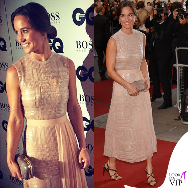 Pippa-Middleton-GQ-Men-of-the-Year-Awards-abito-sandali-Hugo-Boss