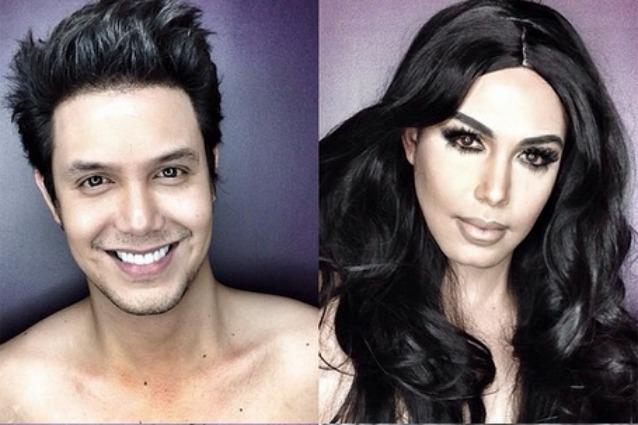 Il-truccatore-che-si-trasforma-nelle-star-americane-con-il-make-up