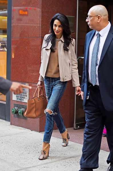 BuzzFoto Celebrity Sightings In New York - April 28, 2015
